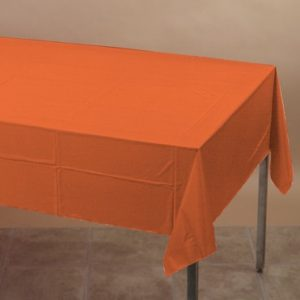 Bittersweet Orange Table Cover