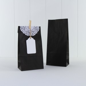 Paper Party Bag ~ Black