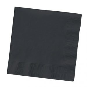 Paper Napkins ~ Black