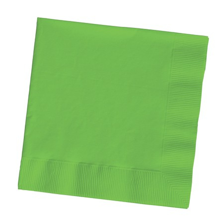 Citrus Green Paper Napkins