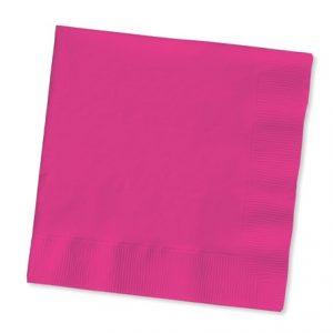 Paper Napkins ~ Magenta