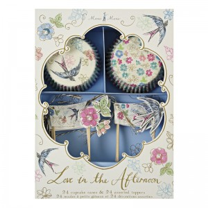 Cupcake Kit ~ Vintage Tea Party