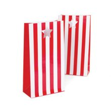 Party Bags ~ Candy Red Stripes