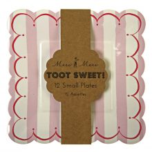 Paper Plates ~ Toot Sweet Pink