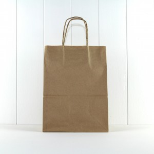 Party Bag with Twist Handle ~ Kraft Large