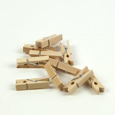 Mini Wooden Pegs ~ 33mm