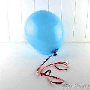 Pastel Blue balloons are a lovely light blue which you can inflate with helium or air.
