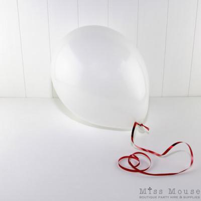 Balloons ~ White