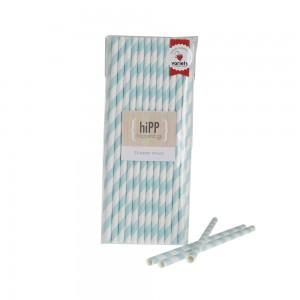 Paper Straws ~ Duck Egg Blue