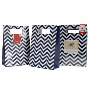 Party Bags & Seals ~ Navy Chevron