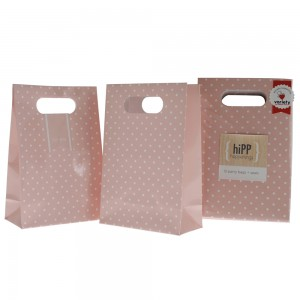Party Bags & Seals ~ Sweet Pink Dot