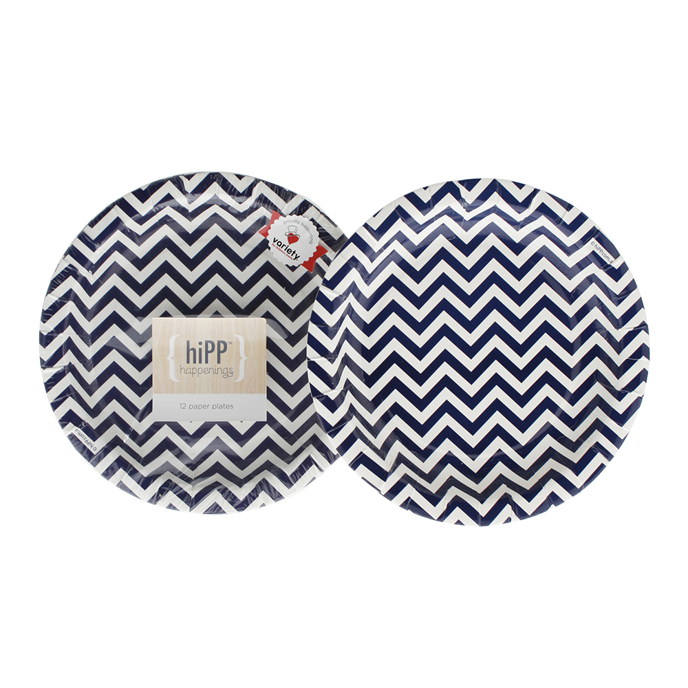 Paper Plates ~ Navy Chevron  sc 1 st  Miss Mouse Boutique & Paper Plates ~ Navy Chevron | Auckland | North Shore | NZ | Miss Mouse
