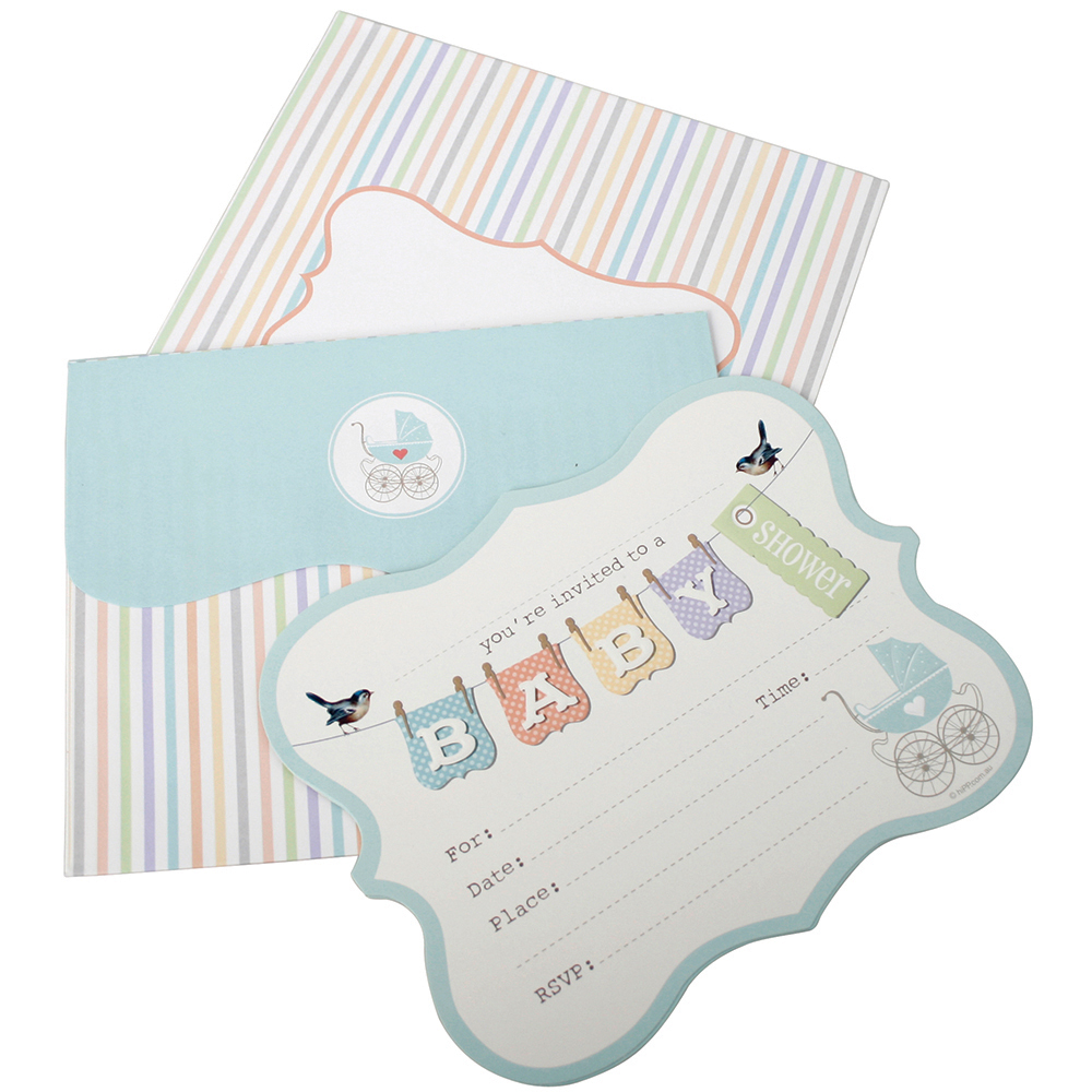 Baby showers baby shower invitations decorations and supplies baby shower invitations filmwisefo