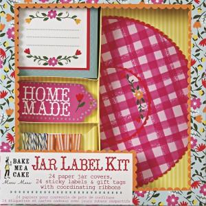 Jar Label Kit ~ Floral