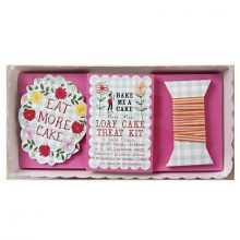 Loaf Cake Treat Kit ~ Floral