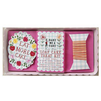 Loaf Cake Treat Kit ~ Floral