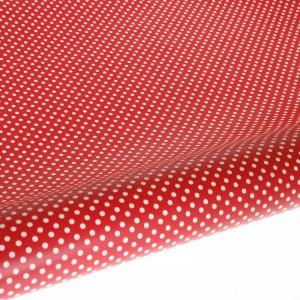 Table Runner / Gift Wrap ~ Red Polka Dot
