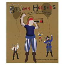 Balloon Holders ~ Ahoy There Pirate