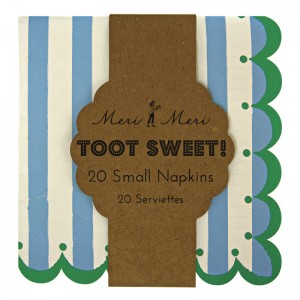 Paper Napkins ~ Toot Sweet Blue