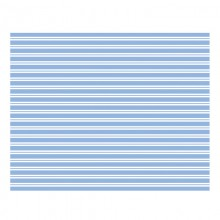 Table Cloth ~ Toot Sweet Blue Stripe