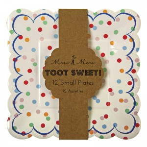 Paper Plates ~ Toot Sweet Spotty
