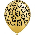 Leopard Spots Printed Balloons
