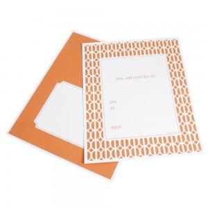 Invitations ~ Habitat Tangerine