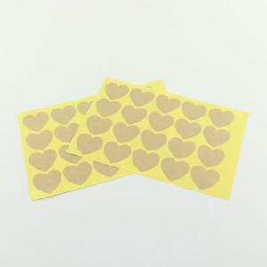 Stickers ~ Kraft Heart