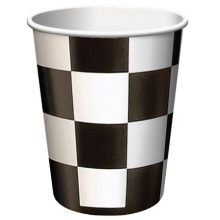 Paper Cups ~ Black Check