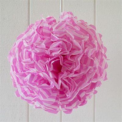 Pom Pom ~ Pink Stripe