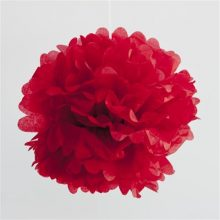 Pom Pom ~ Cherry Red