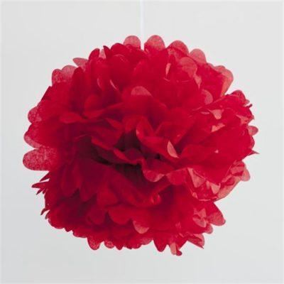 Pom Pom ~ Cherry Red