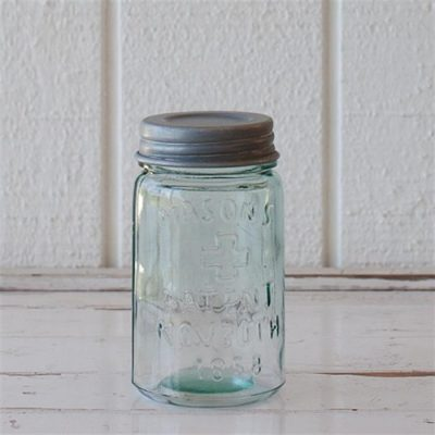 Antique Reproduction Mason Jar ~ 500mL