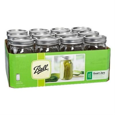Ball Mason Jar ~ Wide Mouth Quart