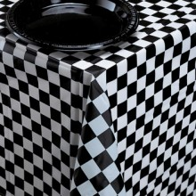 Table Cover ~ Black Check