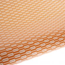 Table Runner / Gift Wrap ~ Habitat Tangelo