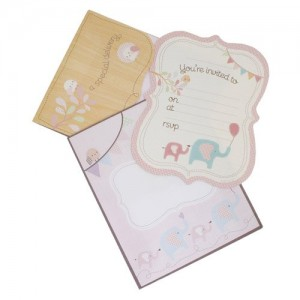 Invitations ~ Special Delivery Little Girl