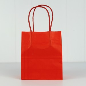 Party Bag with Twist Handle ~ Red