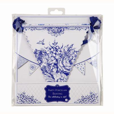 Porcelain Blue Bunting