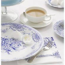 Porcelain Blue Serving Plates