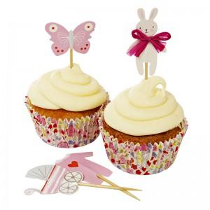 Cupcake Kit ~ Baby Shop Pink