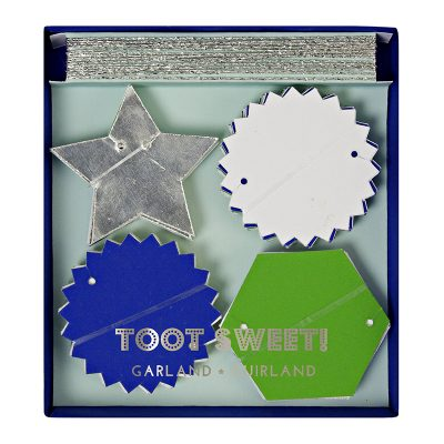 Mini Garland ~ Toot Sweet Blue