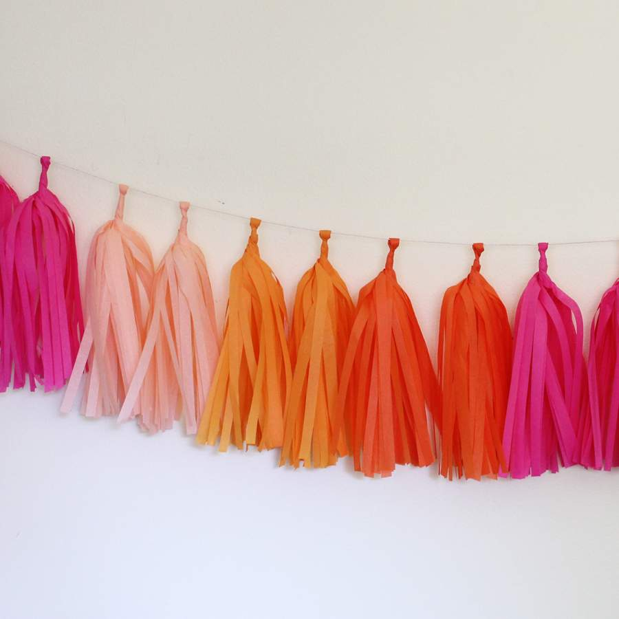 Tassel Garland ~ Bright