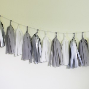 Tassel Garland ~ Sterling