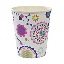 Paper Cups ~ Toot Sweet Floral