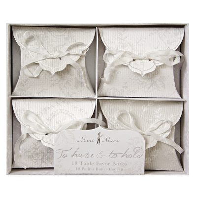 Favour Boxes ~ To Have & To Hold