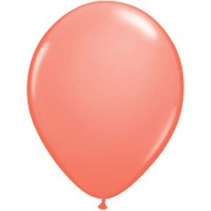 "Coral mini balloons 5"" by Qualatex"