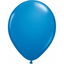 "Dark blue mini balloons 5"" by Qualatex"