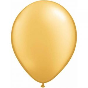 Gold Mini Balloons by Qualatex