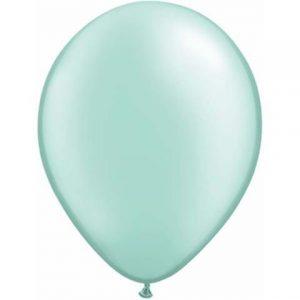Pearl Mint Green Mini Balloons
